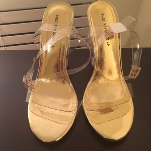 Shoe republic clear heel 8 1/2